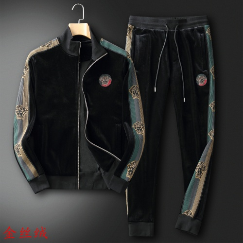 Versace Tracksuits Long Sleeved For Men #906307
