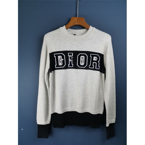 Christian Dior Sweaters Long Sleeved For Men #906611
