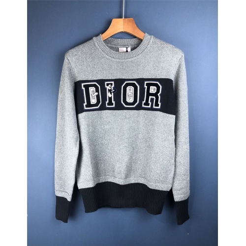 Christian Dior Sweaters Long Sleeved For Men #906612