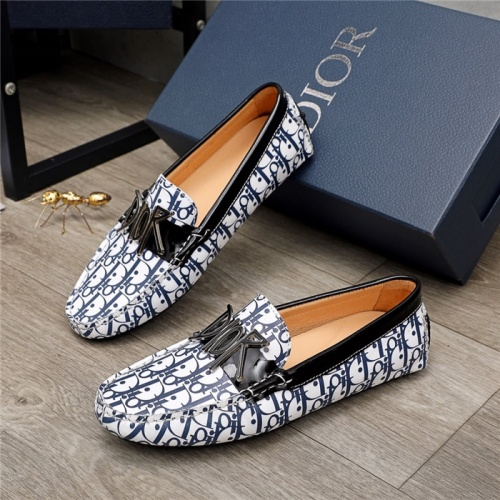 Christian Dior Leather Shoes For Men #906797