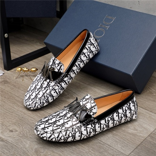 Christian Dior Leather Shoes For Men #906798