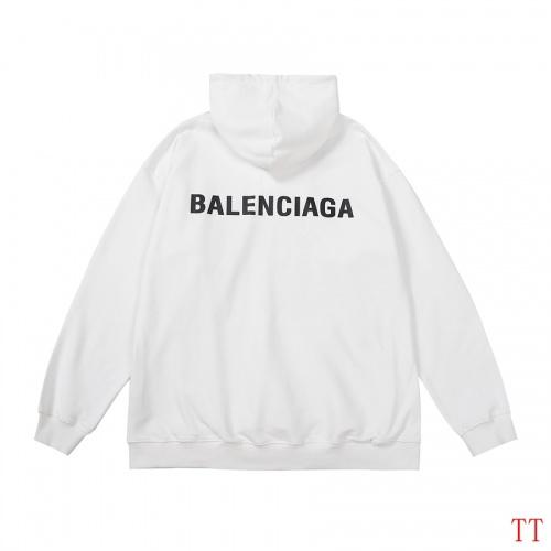 Balenciaga Hoodies Long Sleeved For Men #907447