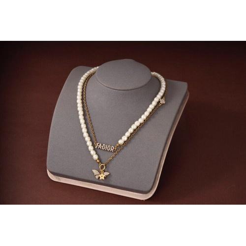 Christian Dior Necklace #908114 $36.00 USD, Wholesale Replica Christian Dior Necklace