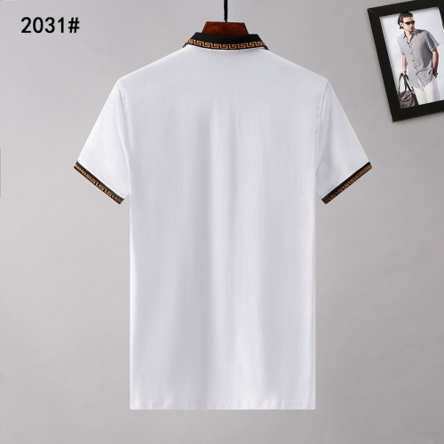Replica Versace T-Shirts Short Sleeved For Men #908860 $29.00 USD for Wholesale