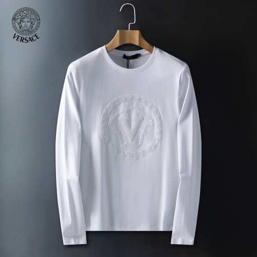 Versace T-Shirts Long Sleeved For Men #908941 $41.00 USD, Wholesale Replica Versace T-Shirts