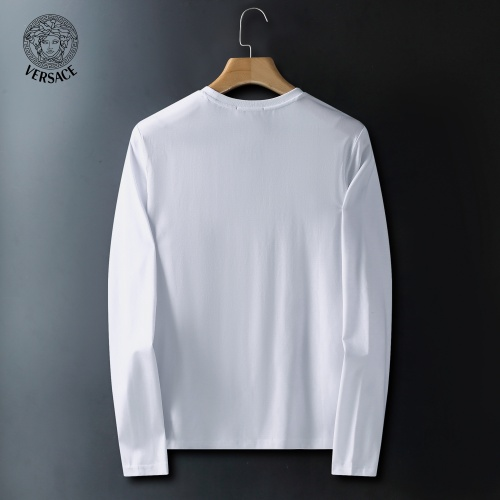 Replica Versace T-Shirts Long Sleeved For Men #908941 $41.00 USD for Wholesale