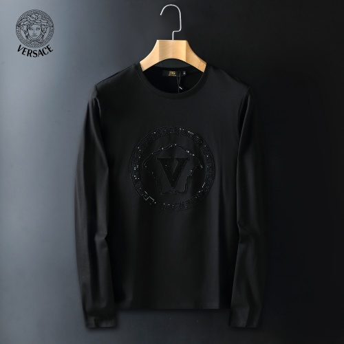 Versace T-Shirts Long Sleeved For Men #908942
