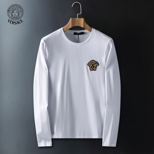 Versace T-Shirts Long Sleeved For Men #908943 $41.00 USD, Wholesale Replica Versace T-Shirts