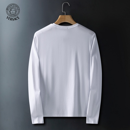 Replica Versace T-Shirts Long Sleeved For Men #908943 $41.00 USD for Wholesale