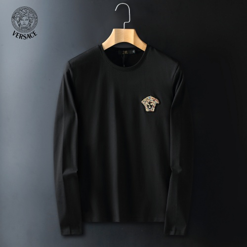 Versace T-Shirts Long Sleeved For Men #908944 $41.00 USD, Wholesale Replica Versace T-Shirts