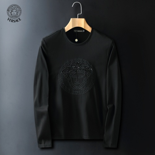 Versace T-Shirts Long Sleeved For Men #908957 $41.00 USD, Wholesale Replica Versace T-Shirts