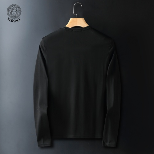 Replica Versace T-Shirts Long Sleeved For Men #908957 $41.00 USD for Wholesale