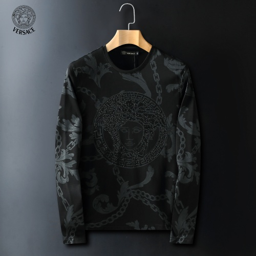 Versace T-Shirts Long Sleeved For Men #908958 $41.00 USD, Wholesale Replica Versace T-Shirts