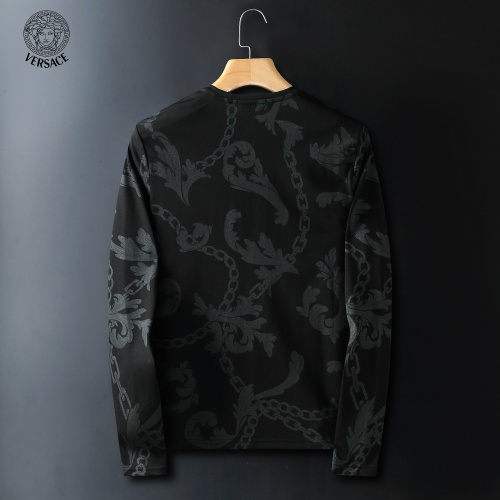 Replica Versace T-Shirts Long Sleeved For Men #908958 $41.00 USD for Wholesale