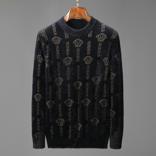 Versace Sweaters Long Sleeved For Men #908979 $52.00 USD, Wholesale Replica Versace Sweaters