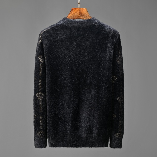 Replica Versace Sweaters Long Sleeved For Men #908979 $52.00 USD for Wholesale
