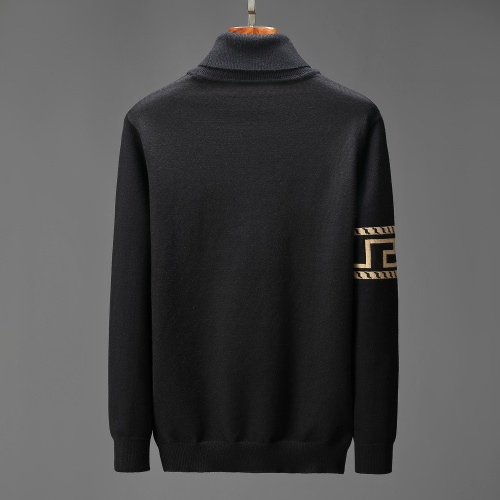 Replica Versace Sweaters Long Sleeved For Men #908987 $52.00 USD for Wholesale