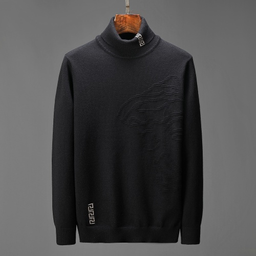 Versace Sweaters Long Sleeved For Men #908999 $48.00 USD, Wholesale Replica Versace Sweaters