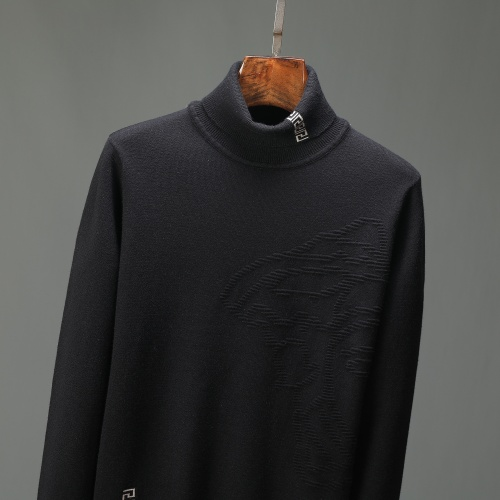 Replica Versace Sweaters Long Sleeved For Men #908999 $48.00 USD for Wholesale
