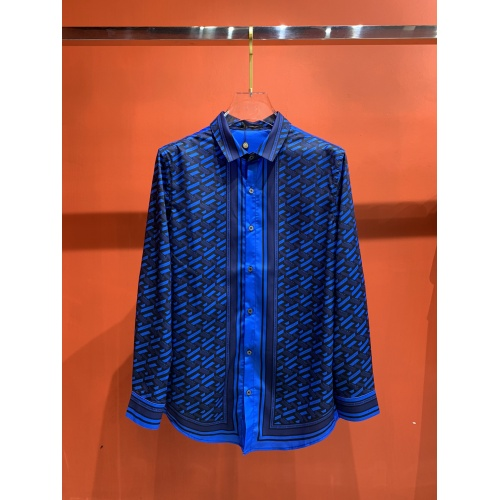 Versace Shirts Long Sleeved For Men #909062 $52.00 USD, Wholesale Replica Versace Shirts