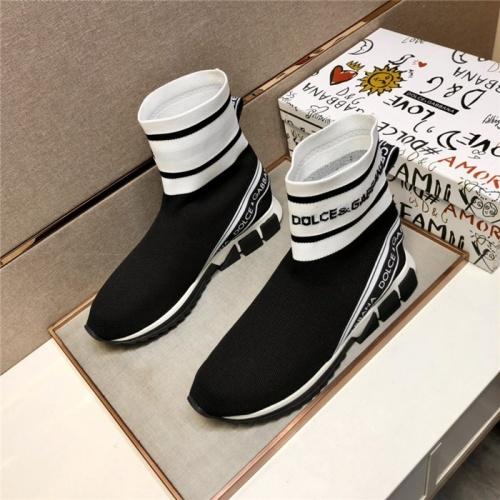 Dolce & Gabbana D&G Boots For Men #909095