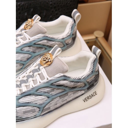 Replica Versace Casual Shoes For Men #909110 $88.00 USD for Wholesale