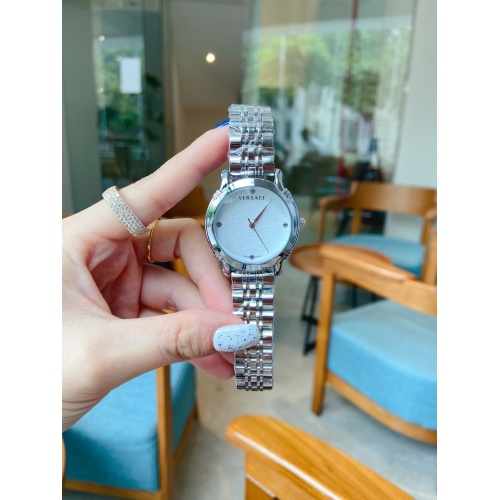 Versace Watches For Women #909304 $33.00 USD, Wholesale Replica Versace Watches