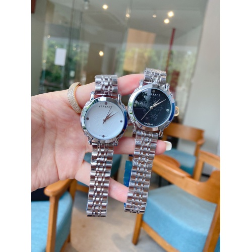 Replica Versace Watches For Women #909304 $33.00 USD for Wholesale