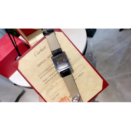 Replica Cartier Watches For Women #909319 $33.00 USD for Wholesale