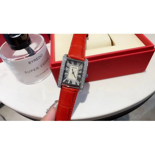 Cartier Watches For Women #909320 $33.00 USD, Wholesale Replica Cartier Watches
