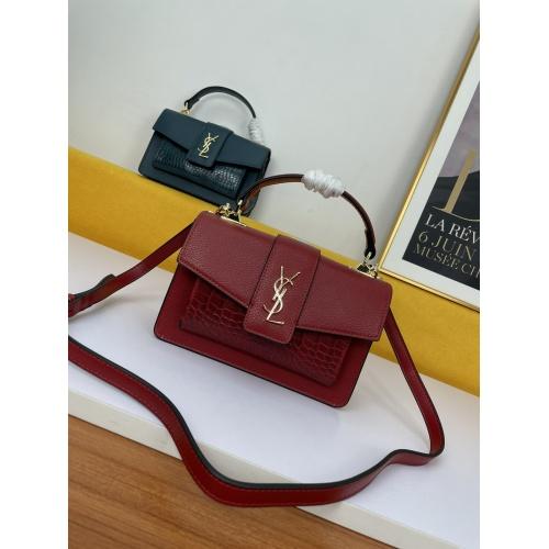Yves Saint Laurent YSL AAA Messenger Bags For Women #909354 $100.00 USD, Wholesale Replica Yves Saint Laurent YSL AAA Messenger Bags