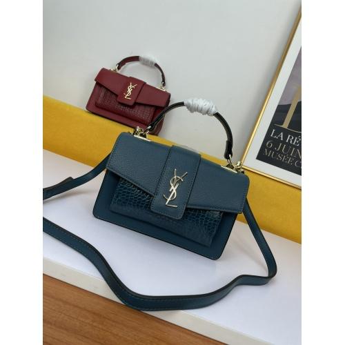 Yves Saint Laurent YSL AAA Messenger Bags For Women #909355 $100.00 USD, Wholesale Replica Yves Saint Laurent YSL AAA Messenger Bags