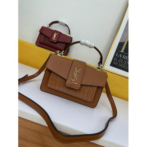Yves Saint Laurent YSL AAA Messenger Bags For Women #909356 $100.00 USD, Wholesale Replica Yves Saint Laurent YSL AAA Messenger Bags