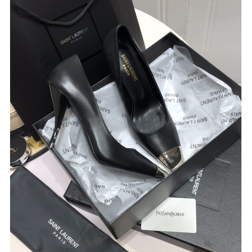 Yves Saint Laurent YSL High-Heeled Shoes For Women #909436