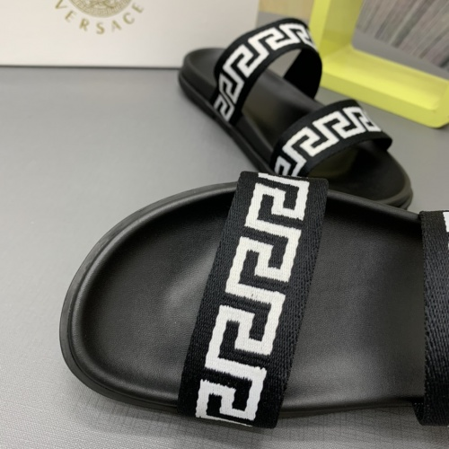 Replica Versace Slippers For Men #909502 $64.00 USD for Wholesale