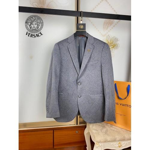 Versace Suits Long Sleeved For Men #909612 $68.00 USD, Wholesale Replica Versace Suits