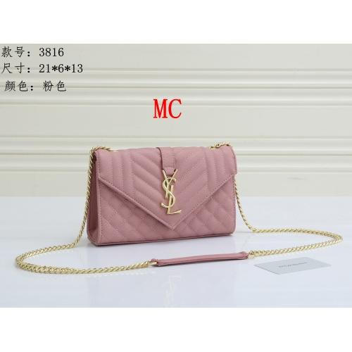Yves Saint Laurent YSL Fashion Messenger Bags For Women #909617 $30.00 USD, Wholesale Replica Yves Saint Laurent YSL Fashion Messenger Bags