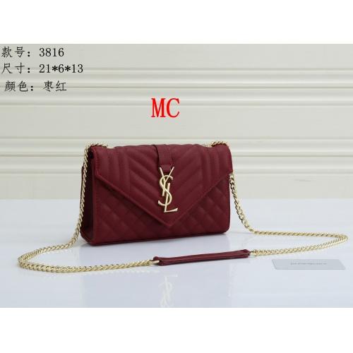 Yves Saint Laurent YSL Fashion Messenger Bags For Women #909618 $30.00 USD, Wholesale Replica Yves Saint Laurent YSL Fashion Messenger Bags