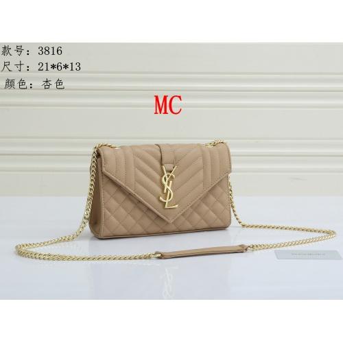Yves Saint Laurent YSL Fashion Messenger Bags For Women #909620 $30.00 USD, Wholesale Replica Yves Saint Laurent YSL Fashion Messenger Bags