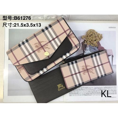Burberry Wallet For Women #909637 $28.00 USD, Wholesale Replica Burberry Wallet