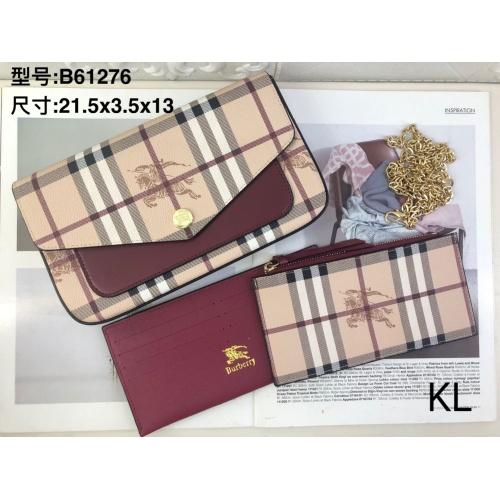 Burberry Wallet For Women #909639 $28.00 USD, Wholesale Replica Burberry Wallet