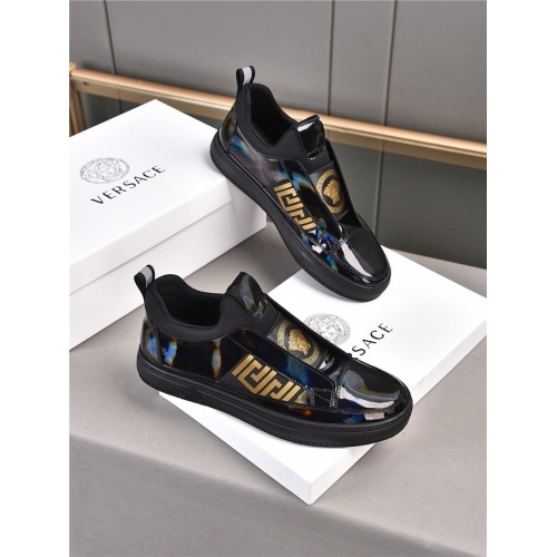 Versace Casual Shoes For Men #909724 $76.00 USD, Wholesale Replica Versace Casual Shoes