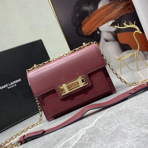 Yves Saint Laurent YSL AAA Messenger Bags For Women #909851 $92.00 USD, Wholesale Replica Yves Saint Laurent YSL AAA Messenger Bags
