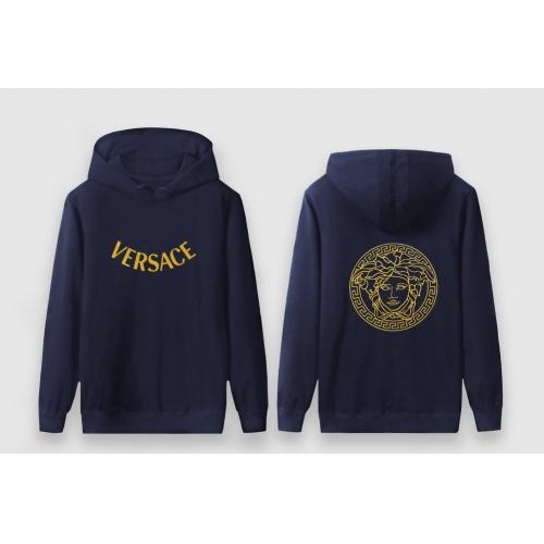 Versace Hoodies Long Sleeved For Men #910060 $41.00 USD, Wholesale Replica Versace Hoodies