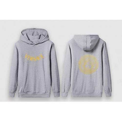 Versace Hoodies Long Sleeved For Men #910063 $41.00 USD, Wholesale Replica Versace Hoodies
