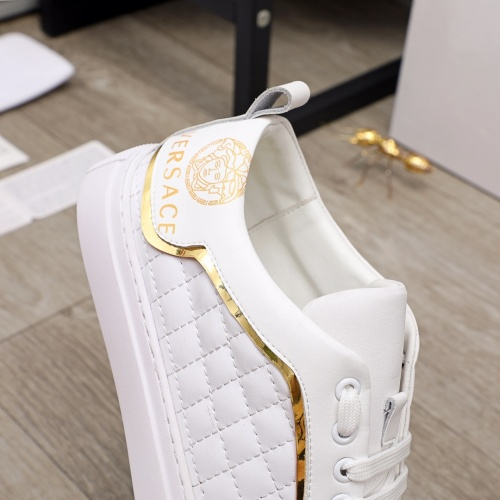Replica Versace Casual Shoes For Men #910177 $68.00 USD for Wholesale