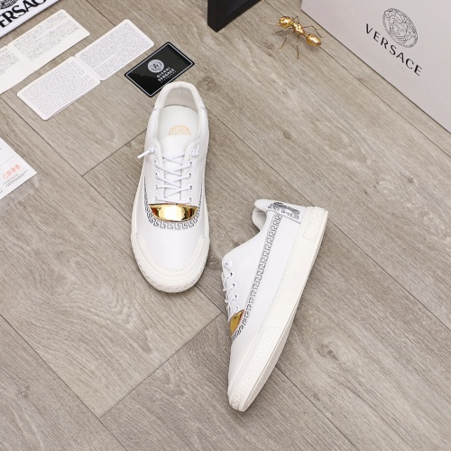 Replica Versace Casual Shoes For Men #910178 $68.00 USD for Wholesale