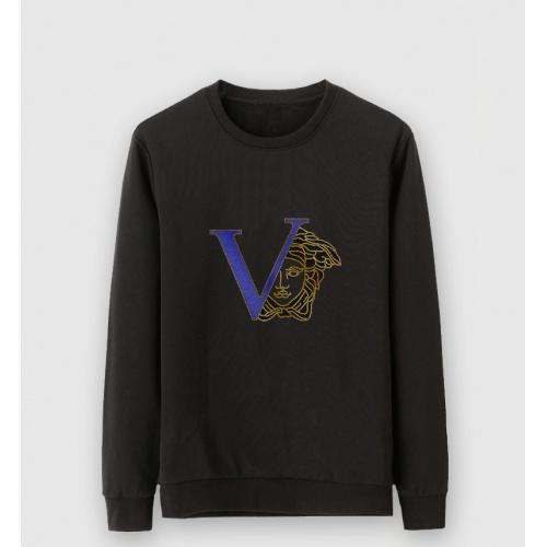 Versace Hoodies Long Sleeved For Men #910343 $39.00 USD, Wholesale Replica Versace Hoodies