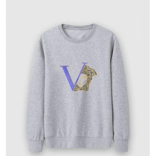 Versace Hoodies Long Sleeved For Men #910345 $39.00 USD, Wholesale Replica Versace Hoodies