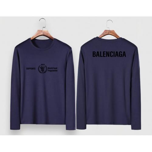 Balenciaga T-Shirts Long Sleeved For Men #910630